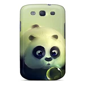 Galaxy S3 Case Cover Funny Kung Fu Panda Case - Eco-friendly Packaging