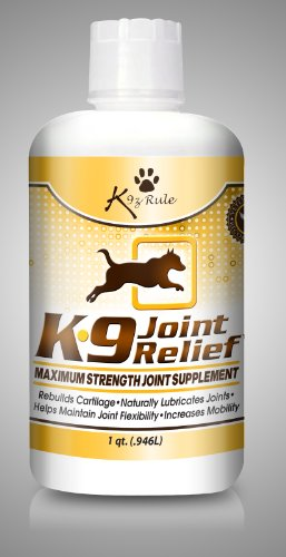 Glucosamine for Dogs, Liquid Joint Supplement with Chondroitin, MSM and a Unique Blend of the Best Natural Ingredients – Relieves Hip and Joint Pain Due to Aging, Arthritis, Etc – Higher Absorption Rate Than Chews or Tablets – MONEY BACK GUARANTEE!, My Pet Supplies