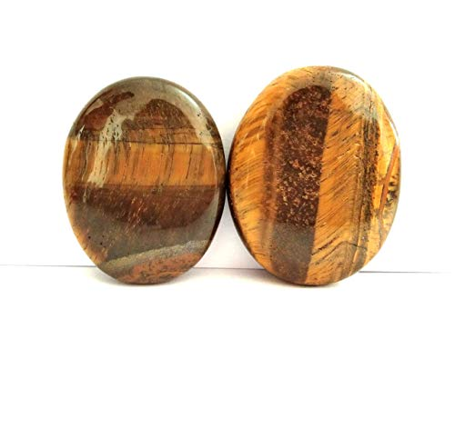 Jet Energized Handmade Tiger eye Set Of 2 Soapstone Sparkle Natural Healing High Grade Healing Metaphysical Jet International Crystal Therapy Booklet IMAGE IS JUST A REFERENCE