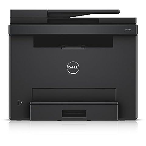 Dell E525W Wireless Color Printer with Scanner Copier & Fax (Laser Printer Copier Fax Scanner)