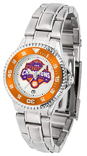 (Clemson Tigers National Championship - Competitor Ladies Steel)