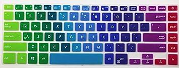 Gradual Pink Leze Ultra Thin Keyboard Skin Cover for 15.6 ASUS VivoBook S S510UQ S510UA,VivoBook F510UA F510UQ,VivoBook 15 X 510UQ// X505BA,ZenBook Pro UX550 UX580,ASUS VivoBook S510 14 Laptop