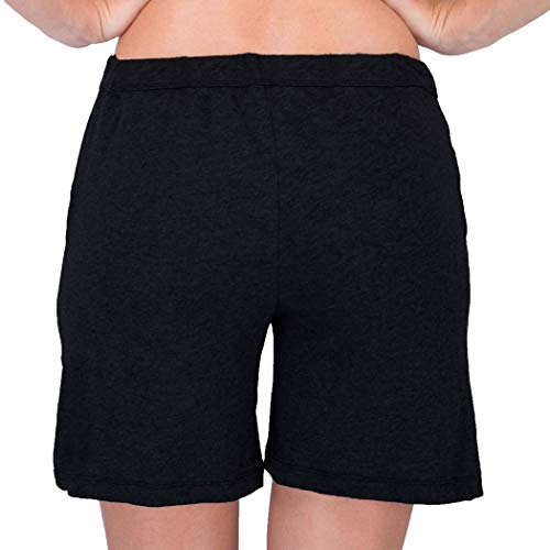 7805ee8d8e Cottonique Women s Hypoallergenic Lounge Short Made from 100% Organic  Cotton at Amazon Women s Clothing store