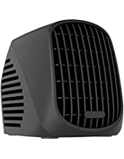 NEXGADGET Desktop Space Heater, 500W Portable Ceramic Heater for Office Home Dorm Tabletop, Ultra Quiet Personal Heater with Overheat Protection & Turbofan Technology-Black