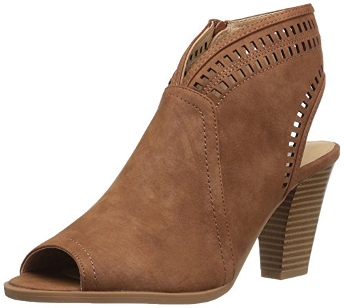 Tan Peep Toe (CL by Chinese Laundry Women's Rylie Ankle Bootie, Tan, 8 M US)