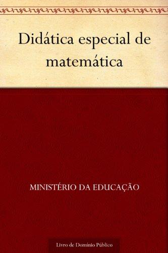 Didática especial de matemática