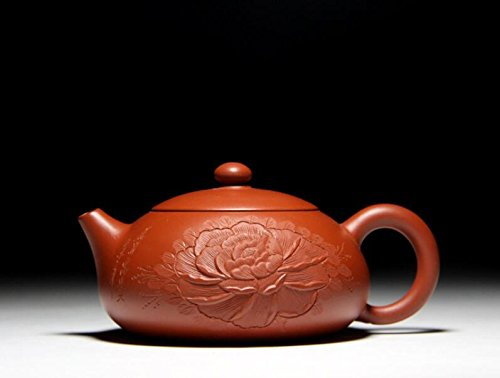 SWT Handmade Yixing Zisha Purple Clay Teapot Healthy Chinese Kongfu Teapot Pu'er tea Red Tea Pot(Xishi) (Swt Pot)