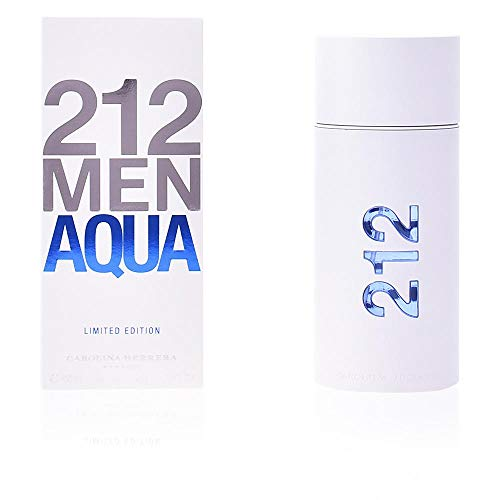 CAROLINA HERRERA 212 Men Aqua Limited Edition, 3.4 Ounce