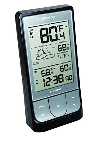 Oregon Scientific BAR218HG WeatheratHome Wireless Weather Station with (Scientific Digital Thermometers)