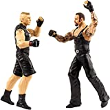 Mattel Undertaker & Brock Lesnar: WWE Tough Talkers Action Figure + 1 Official