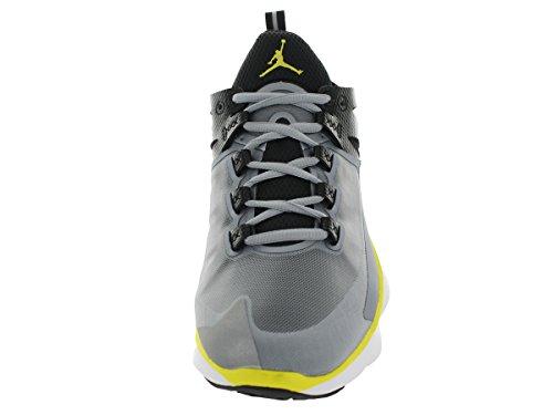 Nike Jordan Flight Runner Laufschuhe Sneaker silber/schwarz/gelb/weiß