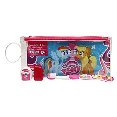 Brush Buddies My Little Pony Travel Kit, 0.1 Pound (Kids Dental Kit compare prices)