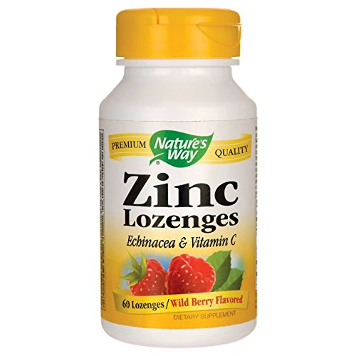 Natures Way Zinc Natural Berry -- 60 Lozenges