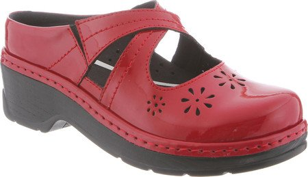 Newport By Klogs Footwear Women's Carolina Crisscross Nursing Shoe Chili Pepper Patent by Klogs (Image #1)
