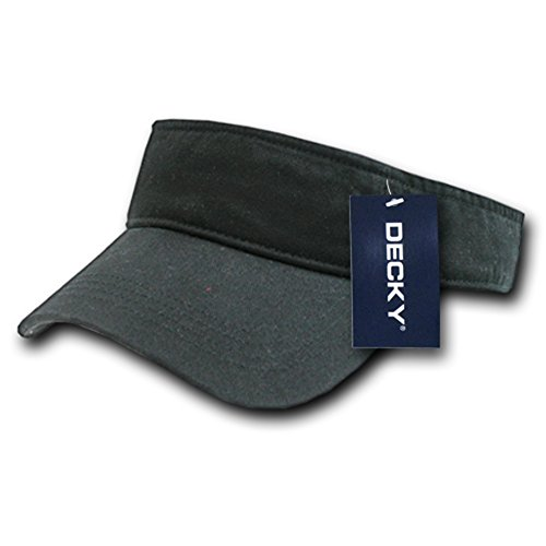 DECKY Polo Visor, Black