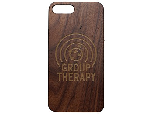 Target Walnut (NDZ Performance Custom Wooden Phone Case For Apple iPhone 7 & iPhone 8 Plus Black Walnut Engraved: Group Therapy Target)
