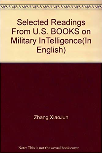 Book Selected Readings From U.S. BOOKS on Military InTelligence(In English)