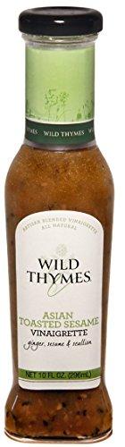 Wild Thymes Asian Toasted Sesame Vinaigrette, 10 Fl Oz.