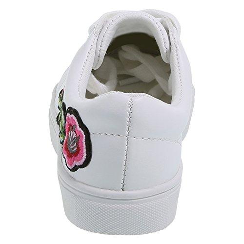 Pictures of Brash Girls' Toddler Bloom Court Shoe M 3
