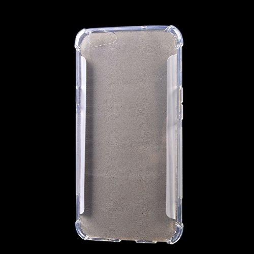 Oppo F1s Funda?COOLKE Anti Slip azos Resistente Soft transparentee TPU Funda Silicona Protective Carcasa Tapa Case Cover Para Oppo F1s - transparente