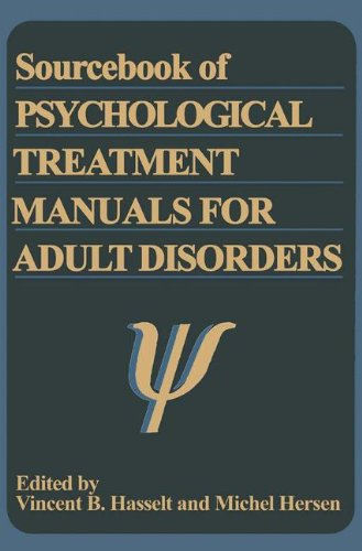 Sourcebook of Psychological Treatment Manuals for Adult Disorders (Subcellular Biochemistry)