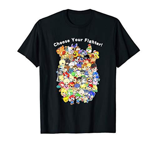 Bro T-shirt Womens Dark (Super Smashs Bros T Shirt)
