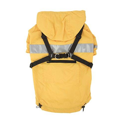 (Puppia PLRA-JM9320-YE-XL Yellow Wilderness Pet-Coats,)