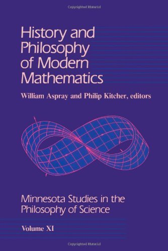 Books : By William Aspray - History and Philosophy of Modern Mathematics
