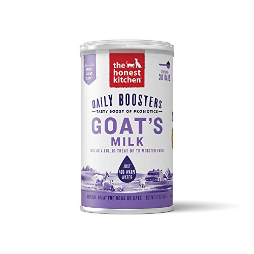 The Honest Kitchen Instant Goat's Milk for Cats and Dogs (1 Count) 5.2 oz (Milk Powder For Senior)