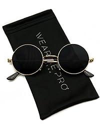 New Retro Lennon Inspired Round Metal Small RoundSunglasses