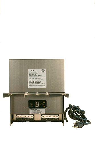 600W Stainless Steel Low Voltage Landscape Light Transformer 12V