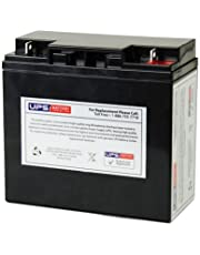 12V 18Ah, NB Terminal, AGM, SLA Replacement - Compatible with Vision CP12180, UB12180