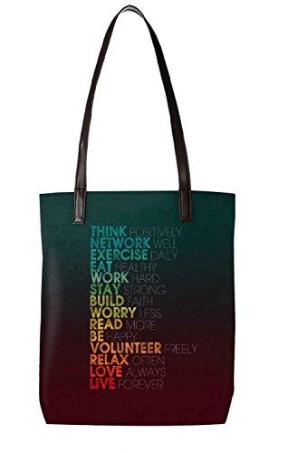 Snoogg Strandtasche, mehrfarbig (mehrfarbig) - LTR-BL-3355-ToteBag