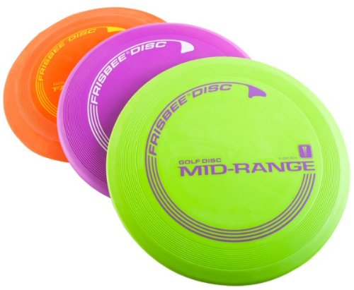 Wham-O 175g Frisbee Disc Golf Starter Set w/ Driver, Mid-Range, and Putter Discs by Frisbee