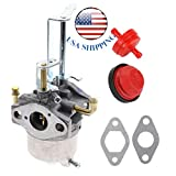 Shnile New Carburetor Carb & Fuel Filter & Primer Bulb for Toro 38587 38272 38282 38452 Snow Blower 119-1570 119-1928 119-1977 Power Clear 180 PC180 418ZR 418ZE Toro 119-1980 Stens 520-876