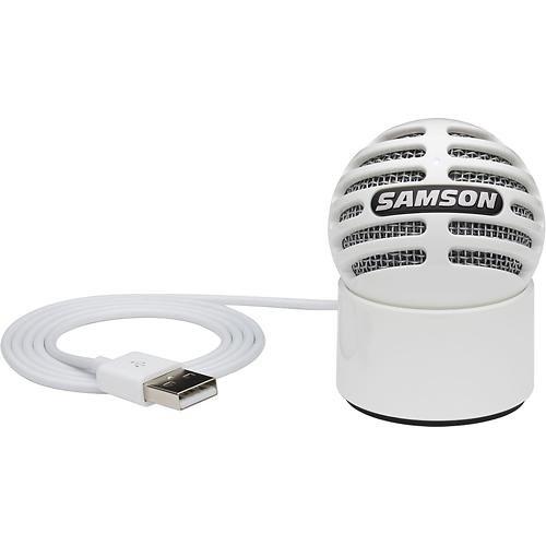Microfono Samson Meteorite Usb Condenser  - White...
