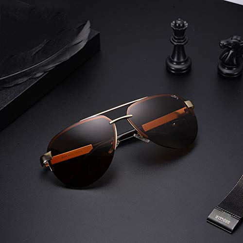 Conducción Sol Personalidad Tan Sol Gafas De Sol Gafas Gafas De De Conducción Polarizadas FKSW Negro Gafas De para Hombre q1AwEq7f