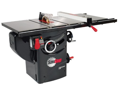 SawStop PCS175-PFA30 1.75-HP Professional Cabinet Saw Assembly with 30-Inch Premium Fence System, Rails and Extension Table