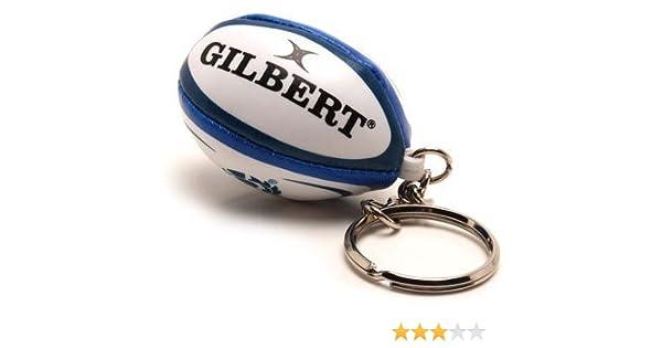 Gilbert oficial de Escocia Rugby pelota key-ring - hecho en Escocia: Amazon.es: Deportes y aire libre