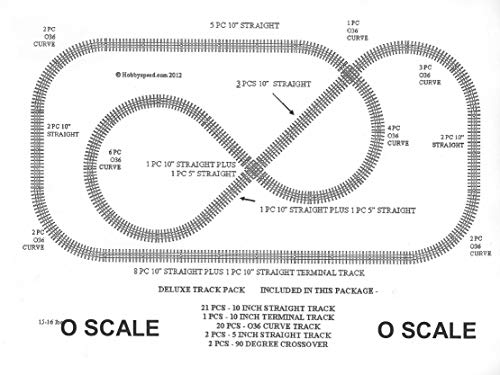 Lionel DELUXE TRACK PACK for FASTRACK 5x10 Feet layout