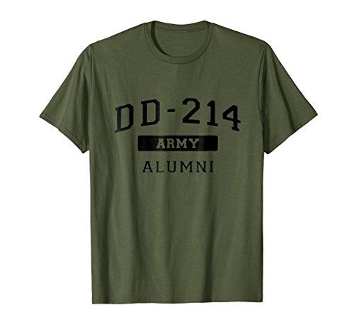 DD214 Alumni Army T-Shirt DD-214 Veteran Shirt