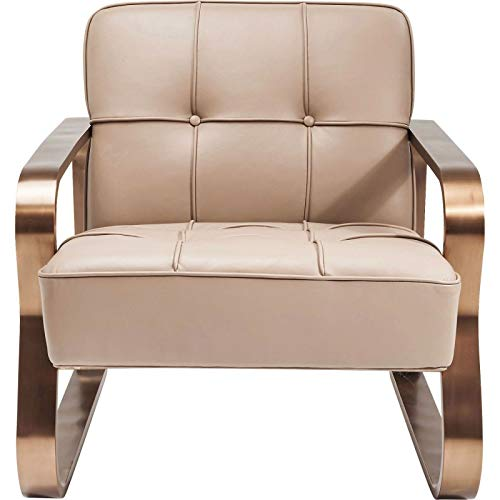 Amazonde Kare Design Sessel Design Leder Und Stahl Dune