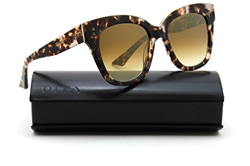 Dita DAY TRIPPER 14K Gold Tortoise Women Sunglasses - Gold Dita Sunglasses
