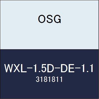 OSG エンドミル WXL-1.5D-DE-1.1 商品番号 3181811