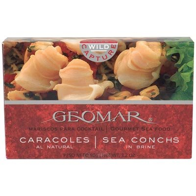 Geomar - Chilean Gourmet Seafood Sea Conch From Geomar 3.2 Ounces