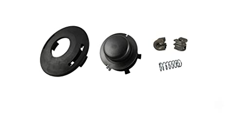 Trimmer Head kit Round Line Feed Eyelets Spring Cover Spool Set For Stihl 25-2