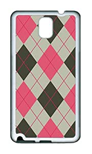 Samsung Note 3 Case,VUTTOO Cover With Photo: Diamond Hit Color Background For Samsung Galaxy Note 3 / N9000 / Note3 - TPU White Soft Case