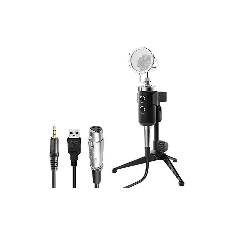 USB PC Microphone, ZealSound Professiona