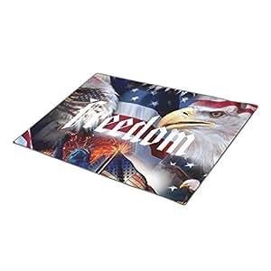 Winlighting Eagles American Monogrammed Door Mat