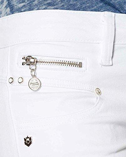 Uni Jeans Porter Freeman Skinny blanc Femme White T wqO5ET5xI